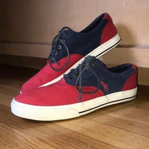 Polo  canvas sneakers